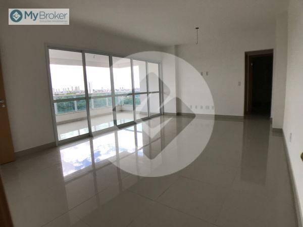 Apartamento com 3 dormitórios à venda, 113 m² por R$ 597.000,00 - Setor Bueno - Goiânia/GO