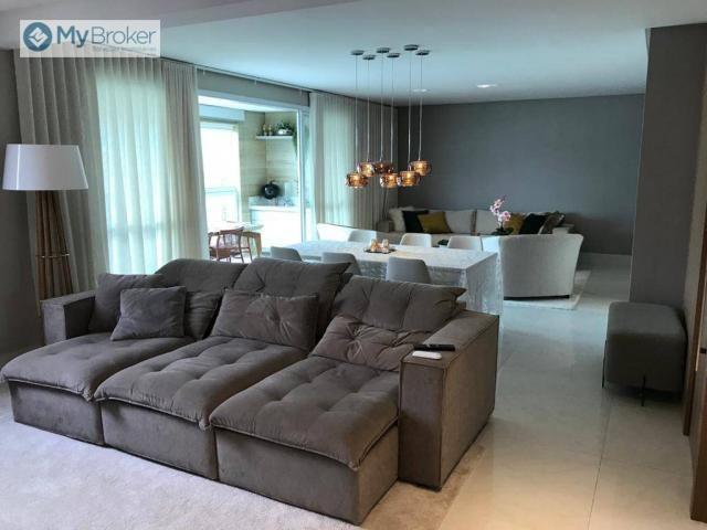 Apartamento com 4 dormitórios à venda, 163 m² por R$ 1.100.000,00 - Jardim Goiás - Goiânia - Foto 3