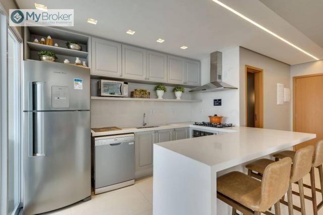 Apartamento com 3 dormitórios à venda, 107 m² por R$ 677. - Setor Bueno - Goiânia/GO - Foto 2