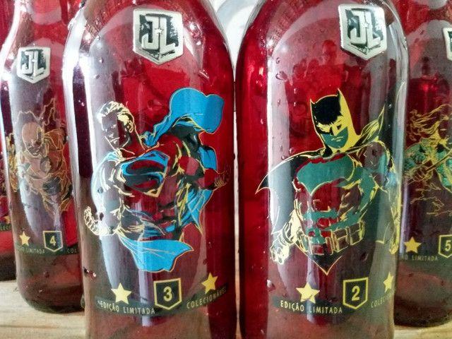 Garrafas colecionáveis DC comics - Foto 5