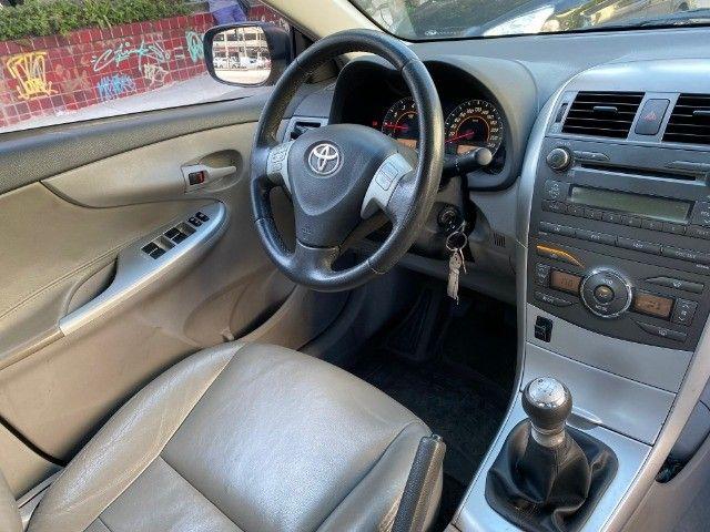 Toyota Corolla 2013 GLI + GNV  - Foto 11