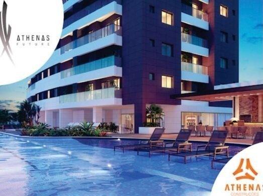 Residencial Athenas Future Living/ Apartamento 67,39m2/ 2 quartos (sendo 1 suíte)/ 1 vaga