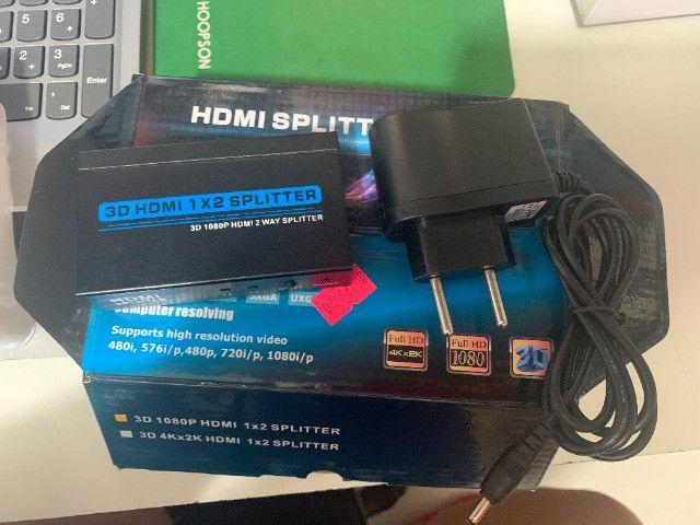 HDMI splitter Series / Ganhei mais Entradas HDMI em seus Aparelhos - Foto 3