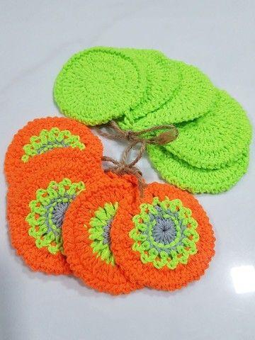 Kit 10 Ecopads de algodão