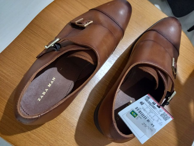 Vendo sapatènis e sapato afivelado de couro - Foto 2