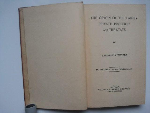 Livro raro de Frederick Engels - Foto 3