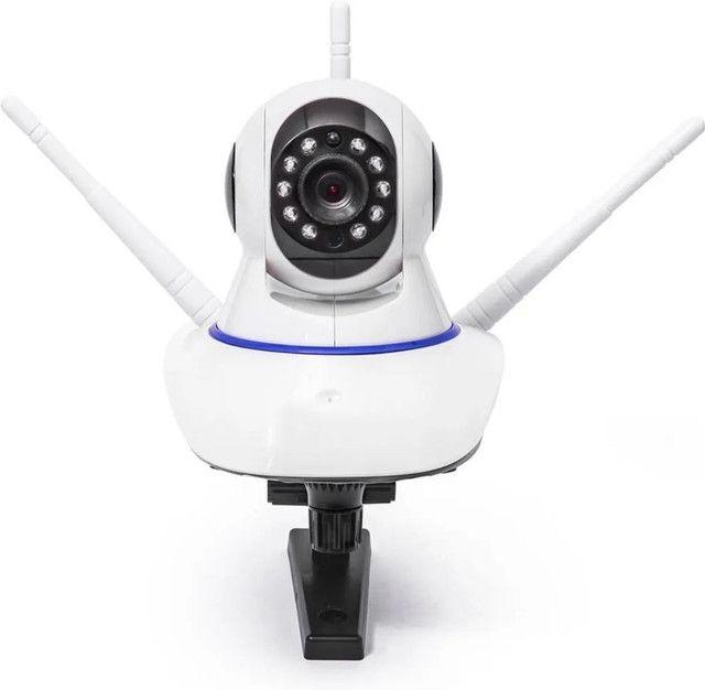 Camera Ultra Hd 3 Antenas Atacado Varejo Sensor de Movimento Visao Noturna - Foto 4