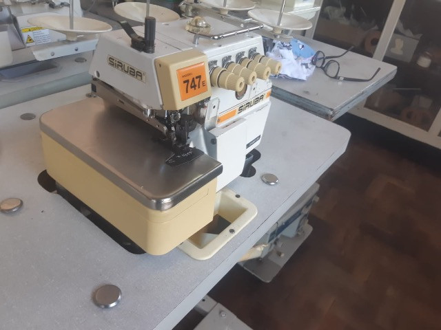 Máquina de Costura Overlock Industrial - Foto 2