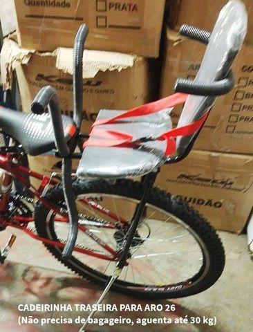 Cadeirinha de bicicleta dianteira - entrego a domicílio - Foto 3