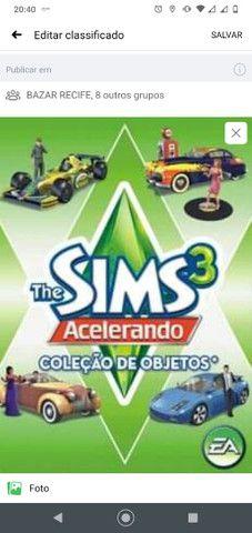 Expansão do jogo The Sims 3  acelerando