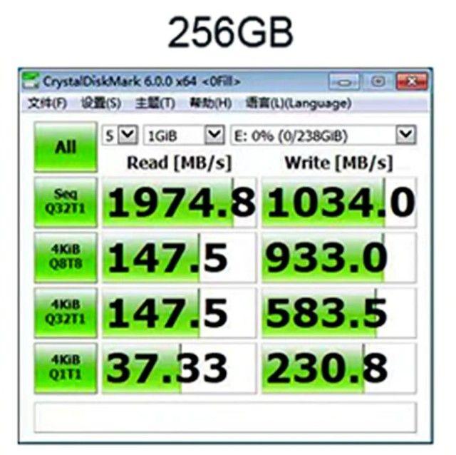 SSD 256GB M.2 2280 NVME! Melhor preço RJ - Desconto 10% + 12x S/Juros! cupom OLX10  - Foto 5