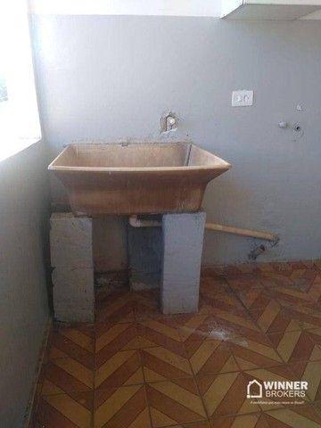 Casa com 3 dormitórios para alugar, 90 m² por R$ 1.100,00/mês - Jardim Alvorada - Maringá/ - Foto 4
