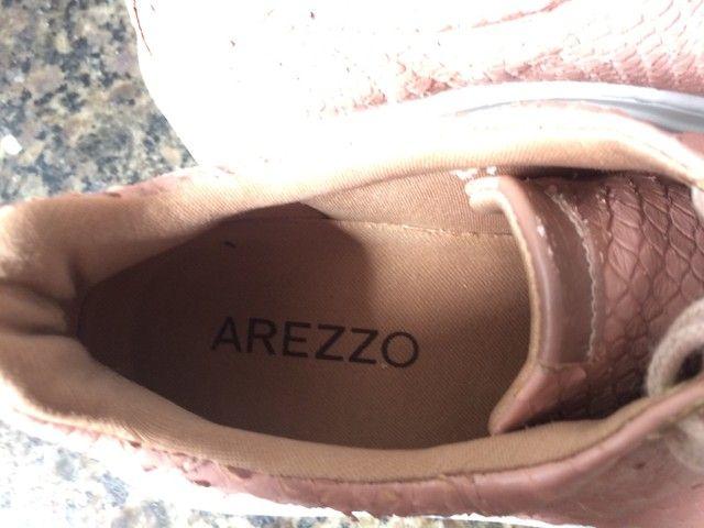Tênis plataforma Arezzo  - Foto 3