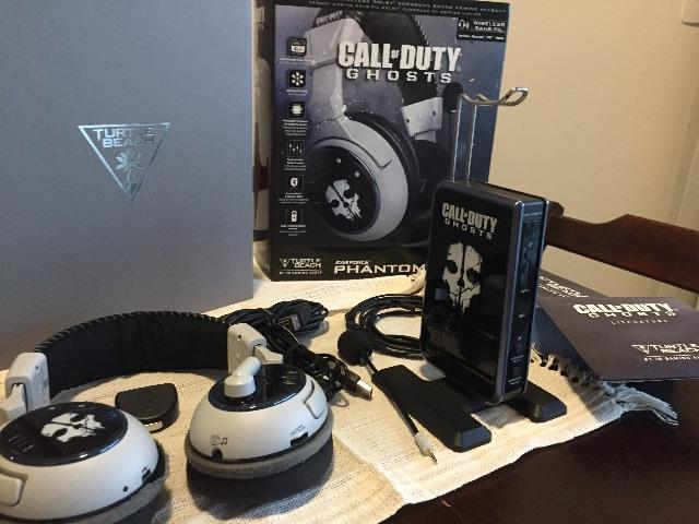 Headset Ear Force Phantom Call of Duty Ghosts Limited Edition Usado