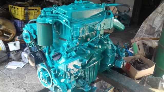 Motores diesel marítimos revisados e com nota fiscal e garantia