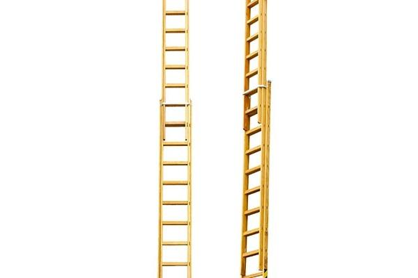Escada madeira extensiva - Eucalipto
