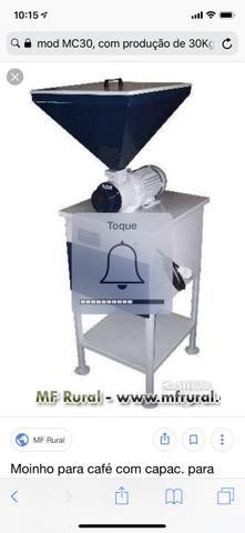 Moinho/moedor de café carmomaq 30kg/hora - Foto 6
