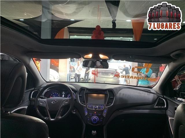 Hyundai Santa fe 3.3 mpfi 4x4 7 lugares v6 270cv gasolina 4p automático - Foto 10