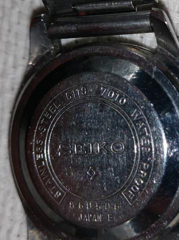 Relógio de Pulso Seiko 5 Raro 6119-7010 - Foto 3