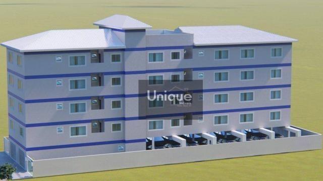 Apartamento com 1 dormitório à venda, 42 m² por R$ 195.000 - Centro - São Pedro da Aldeia/ - Foto 4