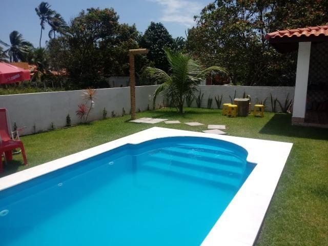Linda Casa, Frente a Praia, Ilha Itaparica, Piscina, Cond. Fechado, Toda Mobiliada! - Foto 6