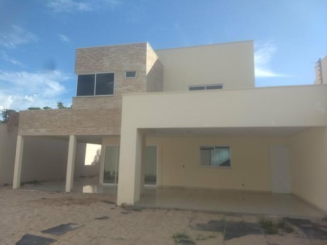 Exc casa duplex no B Ininga 4 suíte 230m2 de área construída financia