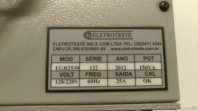 Super Oferta: Ground Bond EGB2530 Medidor de Resistência - Foto 4
