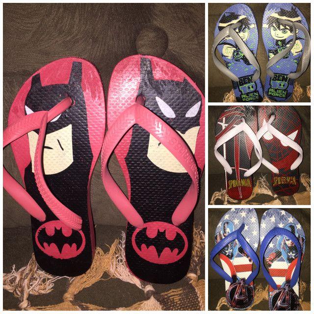 Chinelas e sandálias femininas - Foto 2