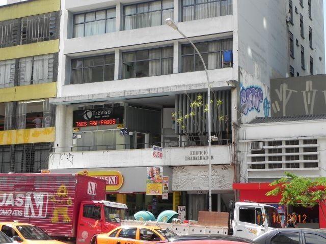 Escritório para alugar em Centro, Curitiba cod:00808.003