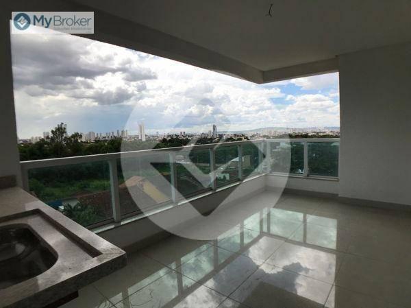 Apartamento com 3 dormitórios à venda, 113 m² por R$ 597.000,00 - Setor Bueno - Goiânia/GO - Foto 2