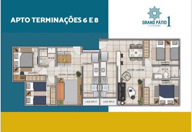 Residencial Grand Pátio 1 - Entrada parcelada em até 80 meses - Foto 12