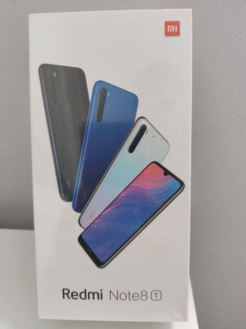 Incomparável // Redmi da Note 8T Xiaomi // Lacrado // Garantia e entrega