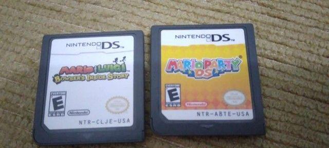 Vendo Mario Party DS e Mario e Luigi Bowsers inside story