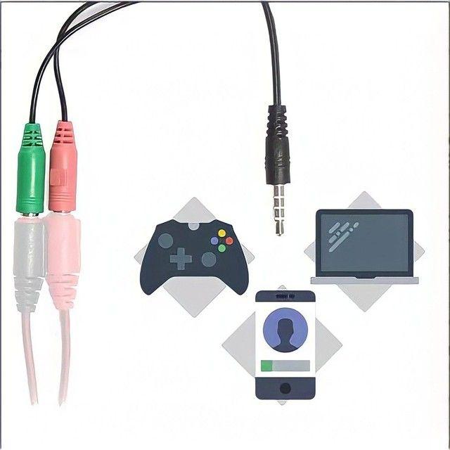 Headset Fone gamer profissional alta qualidade Para revenda novo lacrado - Foto 4