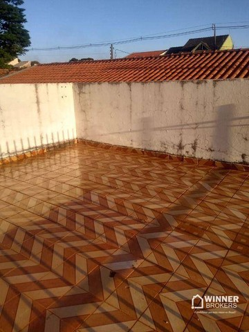 Casa com 3 dormitórios para alugar, 90 m² por R$ 1.100,00/mês - Jardim Alvorada - Maringá/ - Foto 3