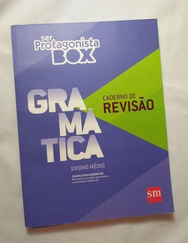 Livro Ser Protagonista Box Gramática - Ensino Médio  - Foto 2