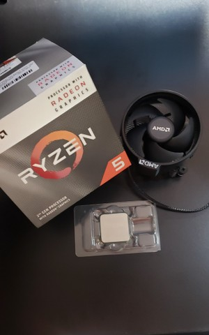 Processador AMD Ryzen 5 3400G 3.7GHz (4.2GHz Max Turbo), Cache 6MB, Socket AM4 - Foto 2