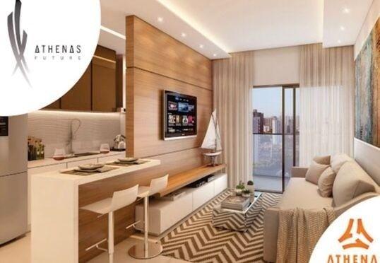 Residencial Athenas Future Living/ Apartamento 67,39m2/ 2 quartos (sendo 1 suíte)/ 1 vaga - Foto 14
