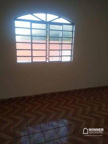 Casa com 3 dormitórios para alugar, 90 m² por R$ 1.100,00/mês - Jardim Alvorada - Maringá/ - Foto 6