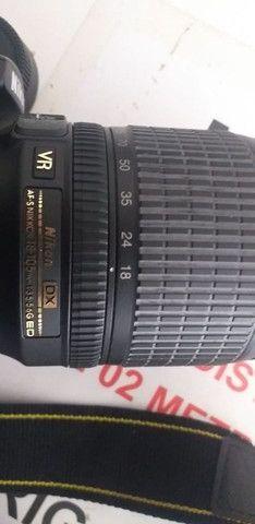 Câmera fotográfica Nikon D90 profissional com os acessórios - Foto 4