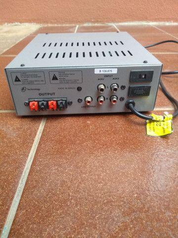 Vendo amplificador de som para casa. - Foto 2