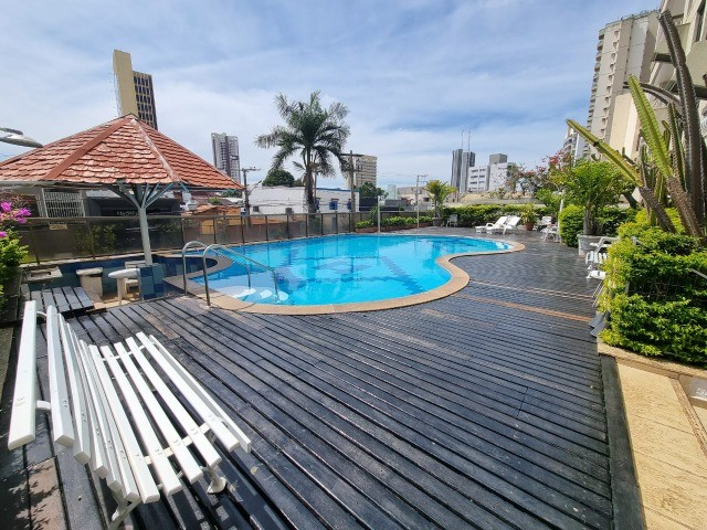 Apartamento Edificio Ville Dijion Praça Popular Cuiabá - Foto 2