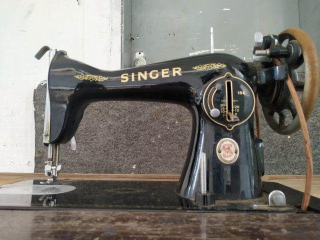 Maquina Costura Antiga Singer Anos 60