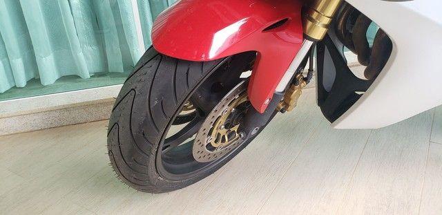 CBR 600F C/ABS 2013 - Pneus Michelin Novos - Foto 7