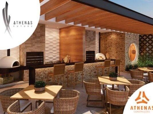Residencial Athenas Future Living/ Apartamento 67,39m2/ 2 quartos (sendo 1 suíte)/ 1 vaga - Foto 9