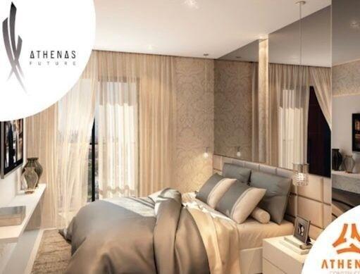 Residencial Athenas Future Living/ Apartamento 67,39m2/ 2 quartos (sendo 1 suíte)/ 1 vaga - Foto 3