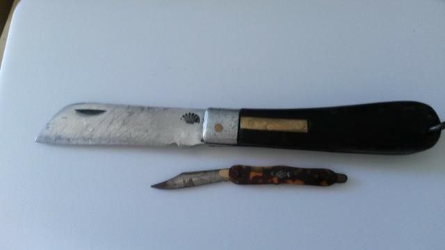 Lote Com 2 Canivetes Antigos