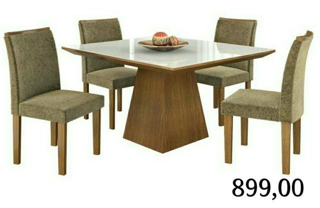Mesa 4 cadeiras savana