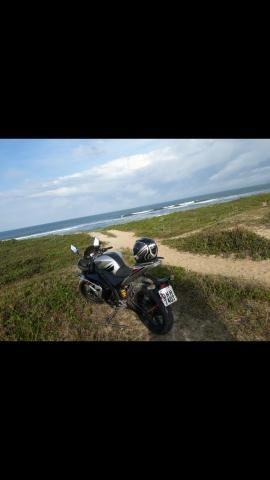 Vendo ou troco moto genata 250r ano2012