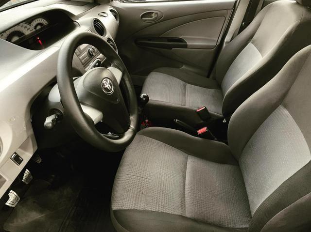 (Junior Veículos)Toyota Etios Sedan Xs 1.5 Completo+Gnv - Foto 8
